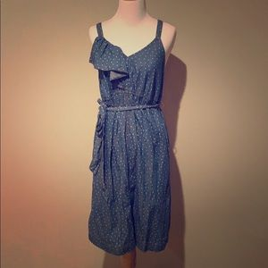 Denim Maternity Dress
